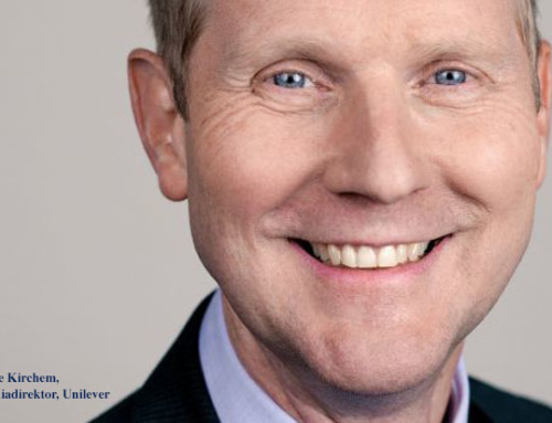 """Arne Kirchem, Unilever: """"An der Relevanz von Umfeldern hat sich nichts geändert."""""""