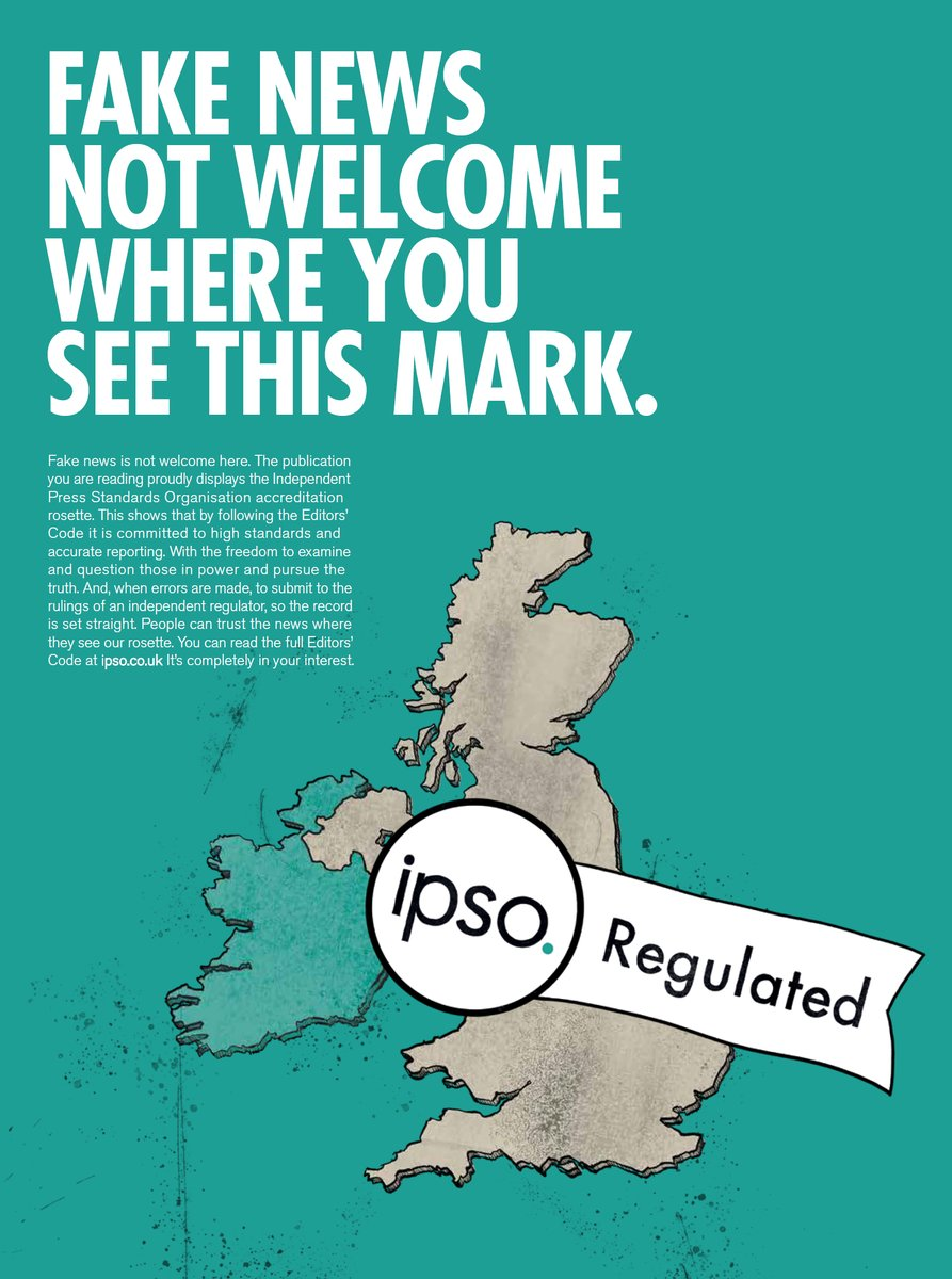 IPSO Fake News not welcome