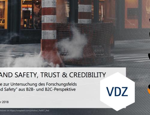 "Neue VDZ Studie: ""Brand Safety, Trust & Credibility"""
