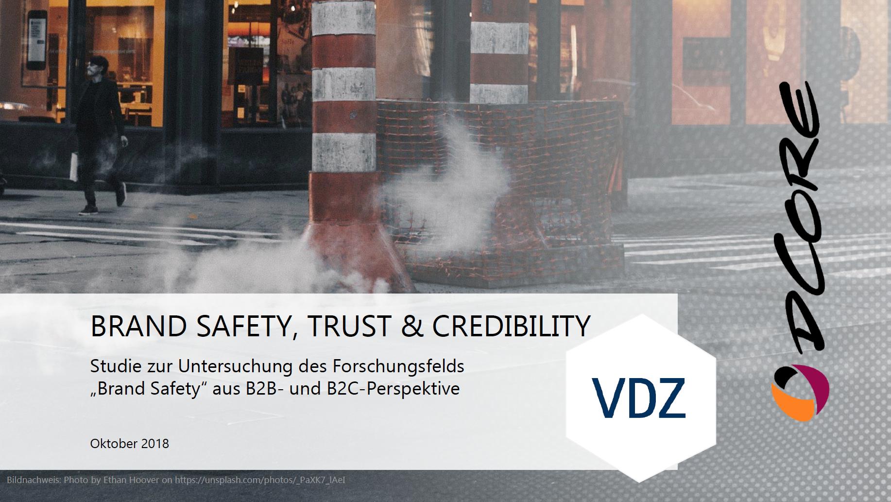 vdz-studie-brand safety-trust-credibility