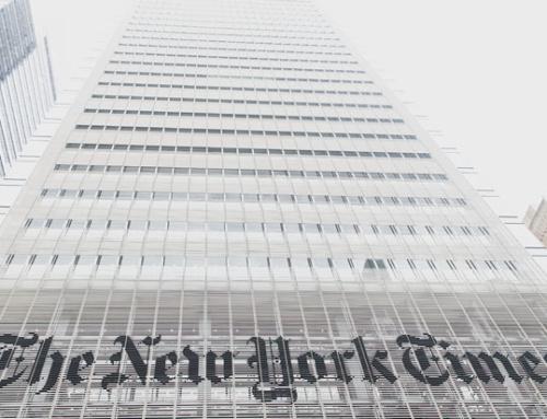 Bilanz eines Erfolgszeitalters: die Marc-Thompson-Ära bei der New York Times