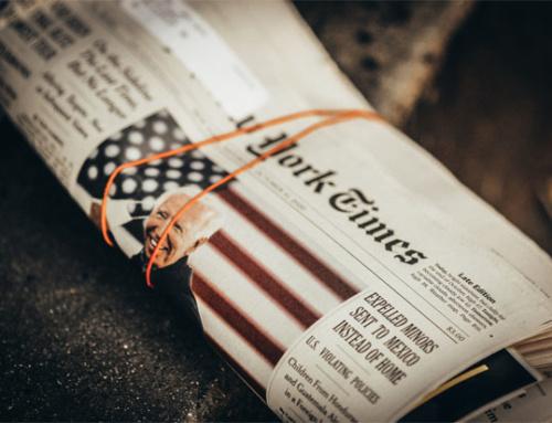 Very good times: Wieso die NYT nach jeder Lesart auf ein denkwürdiges Jahr zurückblicken kann