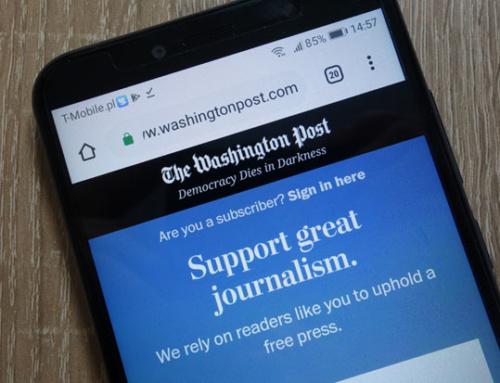 Washington Post: 3 Millionen Digital-Abonnenten und wachsendes Werbegeschäft